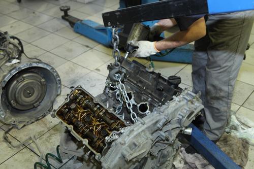 Ремонт ГБЦ двигателя.