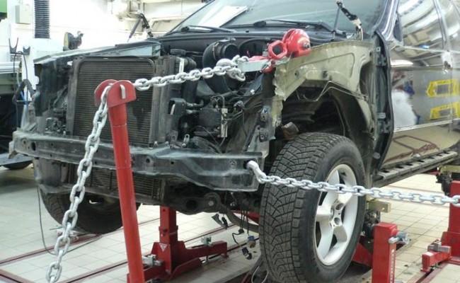 Кузовной ремонт и покраска Ниссан