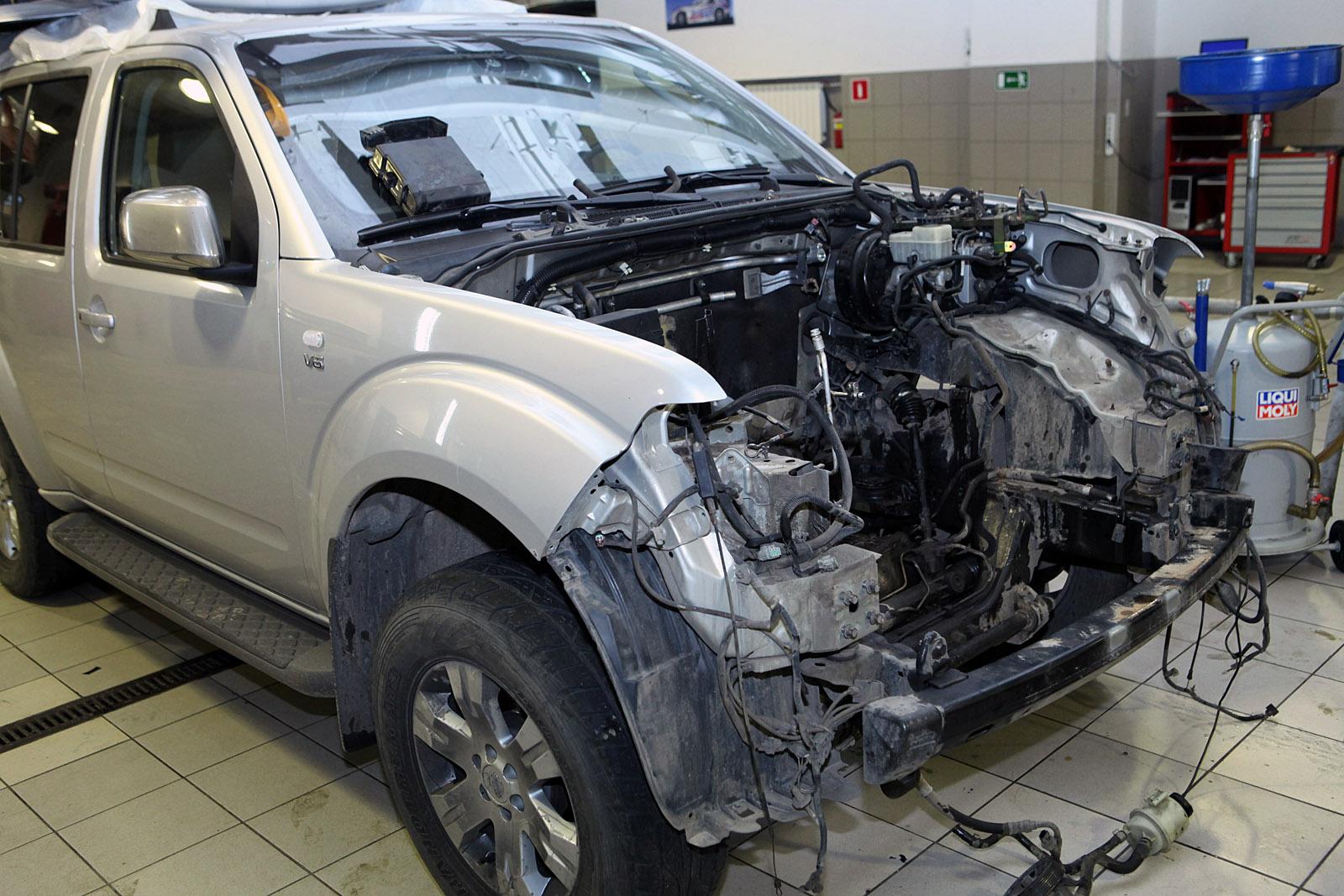 Кузовной ремонт автомобилей ниссан